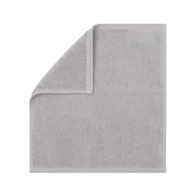 Plush Mist Grey Washcloth