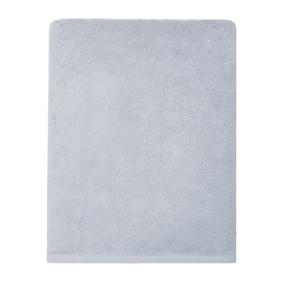 Plush Powder Blue Bath Sheet