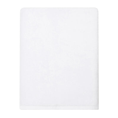 Plush White Bath Sheet