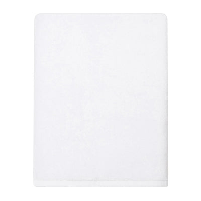 Plush White Bath Sheet Two Pack