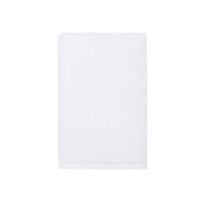 Plush White Hand Towel