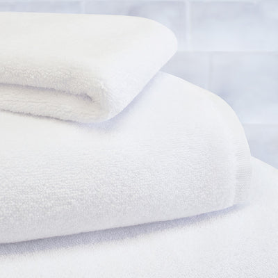 Plush White Washcloth