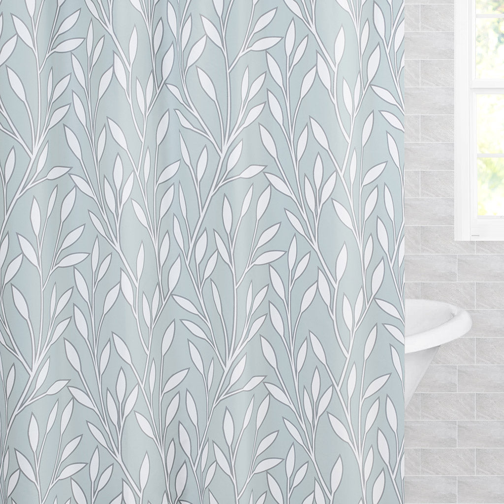 Bedroom inspiration and bedding decor | The Laurel Shower Curtain Duvet Cover | Crane and Canopy
