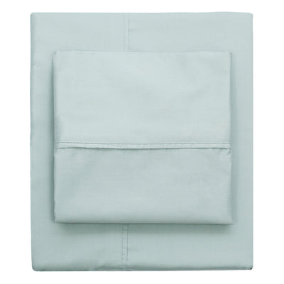 Porcelain Green 400 Thread Count Sheet Set 1 (Fitted, Flat, & Pillow Cases)