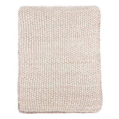 Sand Knotted Throw