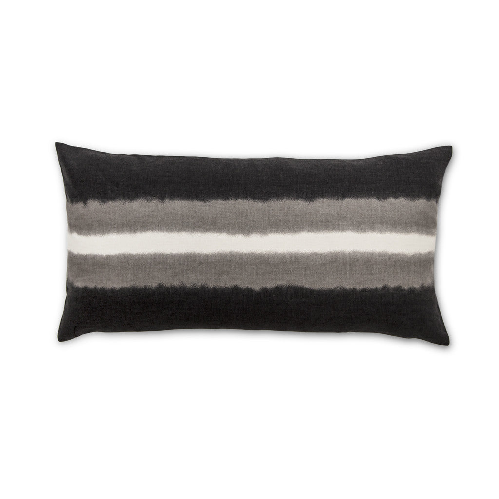 Bedroom inspiration and bedding decor | The Smoke Striped Throw Pillows | Crane and Canopy