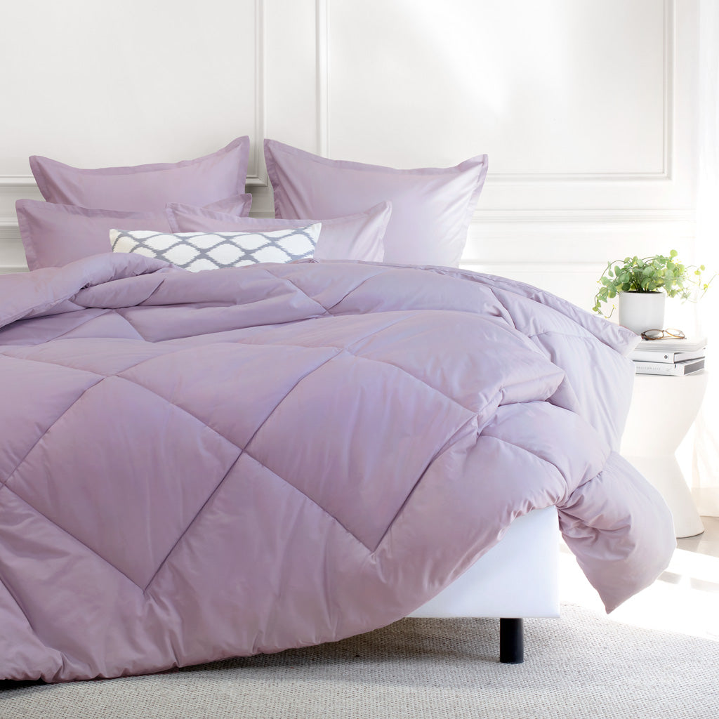 Bedroom inspiration and bedding decor | The Lilac Comforter Duvet Cover | Crane and Canopy