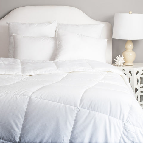 Bedroom inspiration and bedding decor | The Luxe Down Alternative Comforters | Crane and Canopy