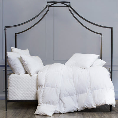Bedroom inspiration and bedding decor | The Supreme Goose Down Comforters | Crane and Canopy
