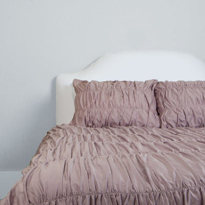 Bedroom inspiration and bedding decor | The Sutter Lilac Duvet Cover | Crane and Canopy