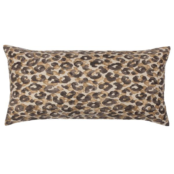 Bedroom inspiration and bedding decor | The Chestnut Leopard Throw Pillows | Crane and Canopy