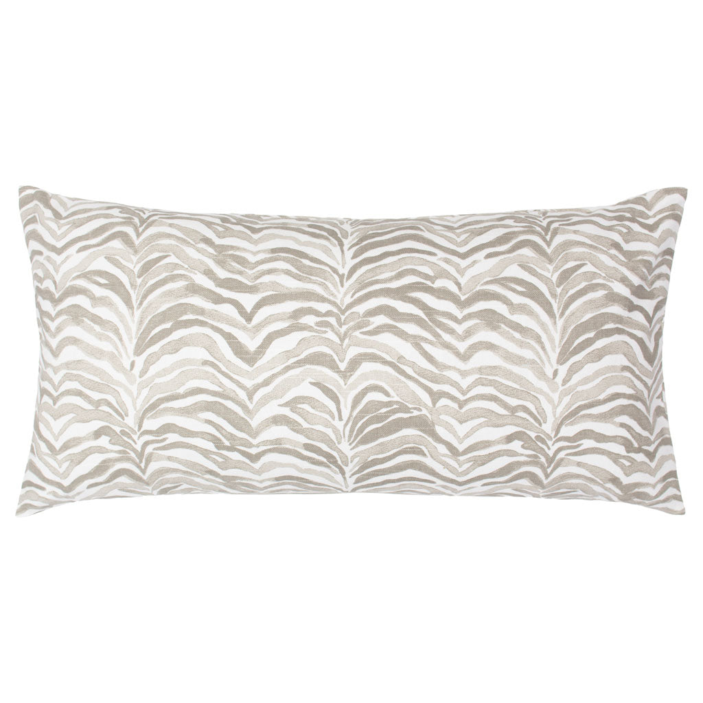 Bedroom inspiration and bedding decor | The Taupe Waves Throw Pillows | Crane and Canopy