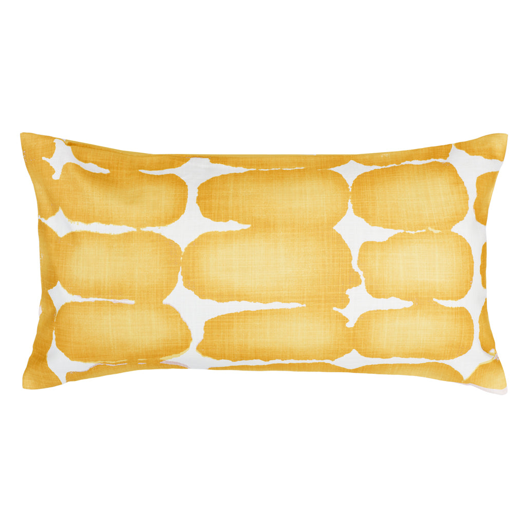 Bedroom inspiration and bedding decor | The Mustard Shibori Brush Throw Pillow Duvet Cover | Crane and Canopy