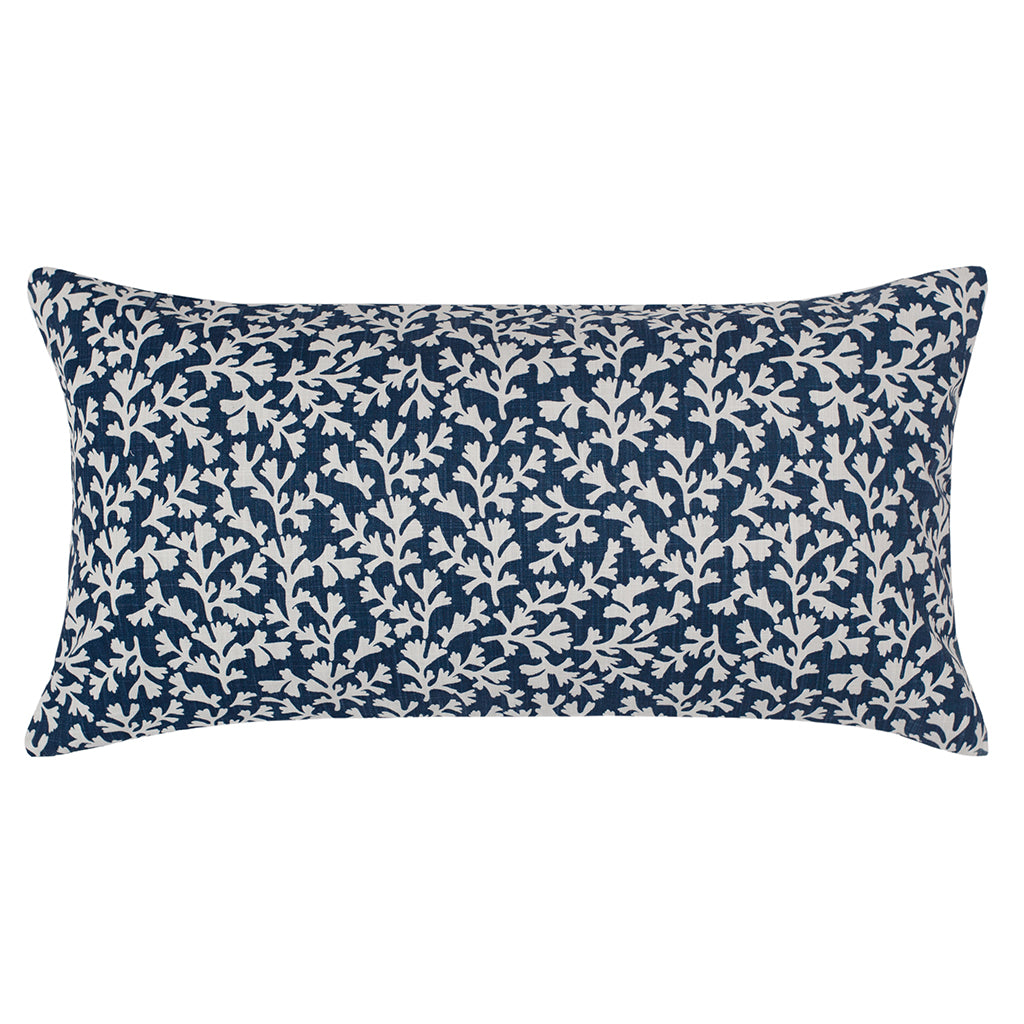 Bedroom inspiration and bedding decor | The Navy Ocean Reef Throw Pillow Duvet Cover | Crane and Canopy