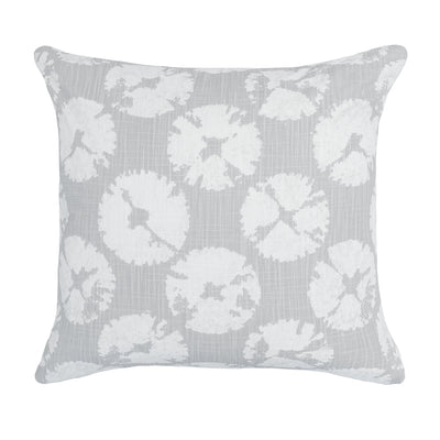 The Grey Sand Dollar Square Throw Pillow