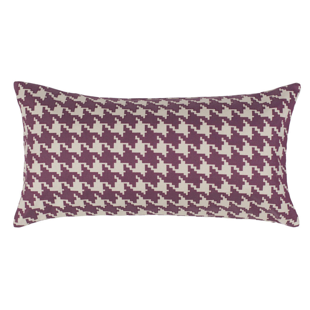 Bedroom inspiration and bedding decor | The Berry Houndstooth Throw Pillows | Crane and Canopy