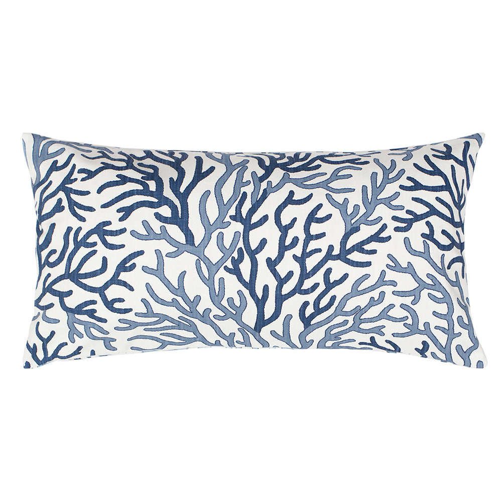 The Blue And Navy Reef Throw Pillows | Bedroom Inspiration And Bedding Decor  | Www.
