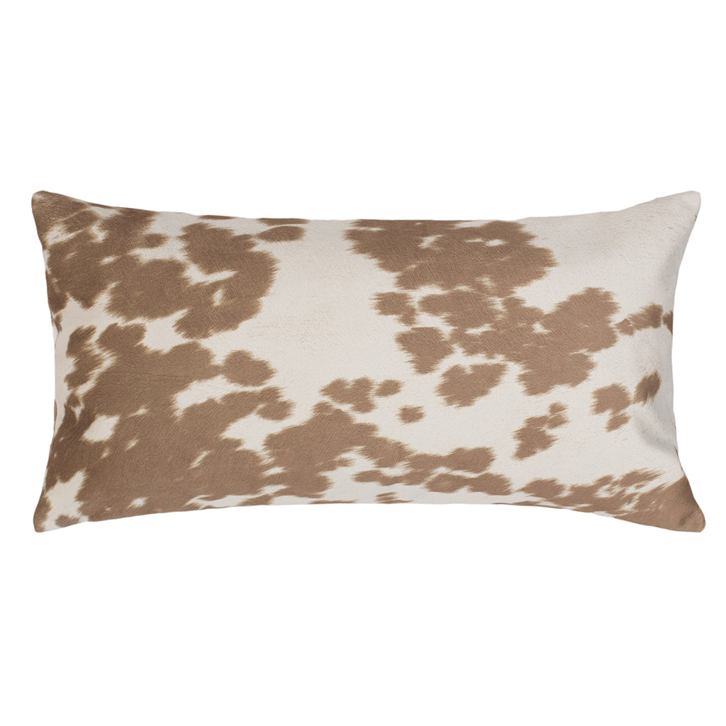 Bedroom inspiration and bedding decor | The Chestnut Cowhide Throw Pillows | Crane and Canopy