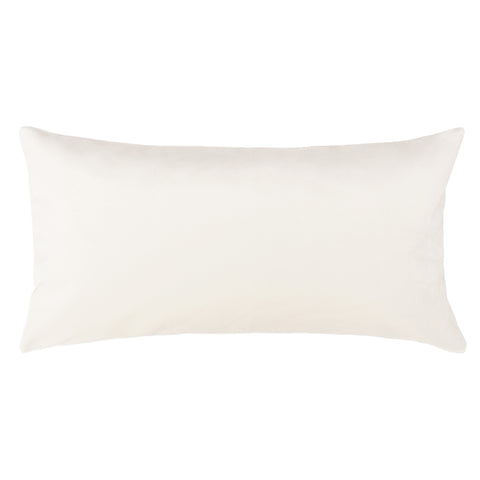 The Cream Velvet Throw Pillow