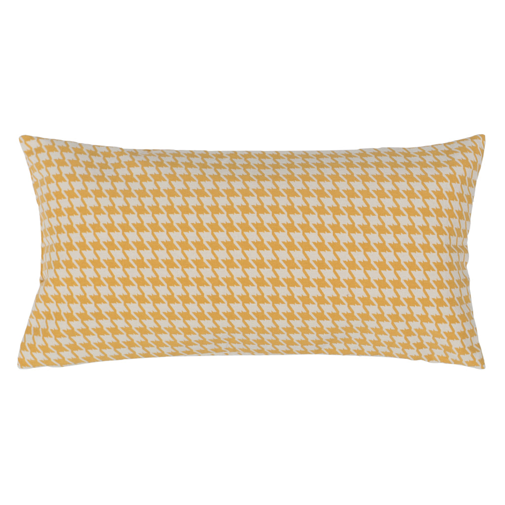 Bedroom inspiration and bedding decor | The Marigold Houndstooth Throw Pillows | Crane and Canopy