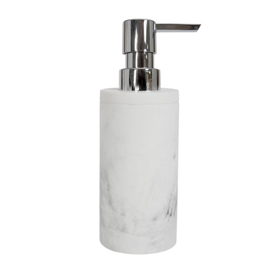 Classic Grey Marble Bath Accessories, Soap/Lotion Pump