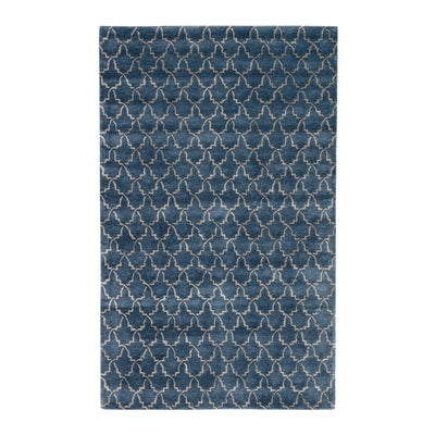 The Moroccan Tulip Tufted Wool Rug
