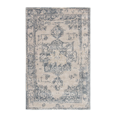 The Mosaic Medallion Tufted Wool Rug