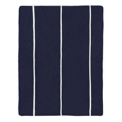 Navy Lines Throw