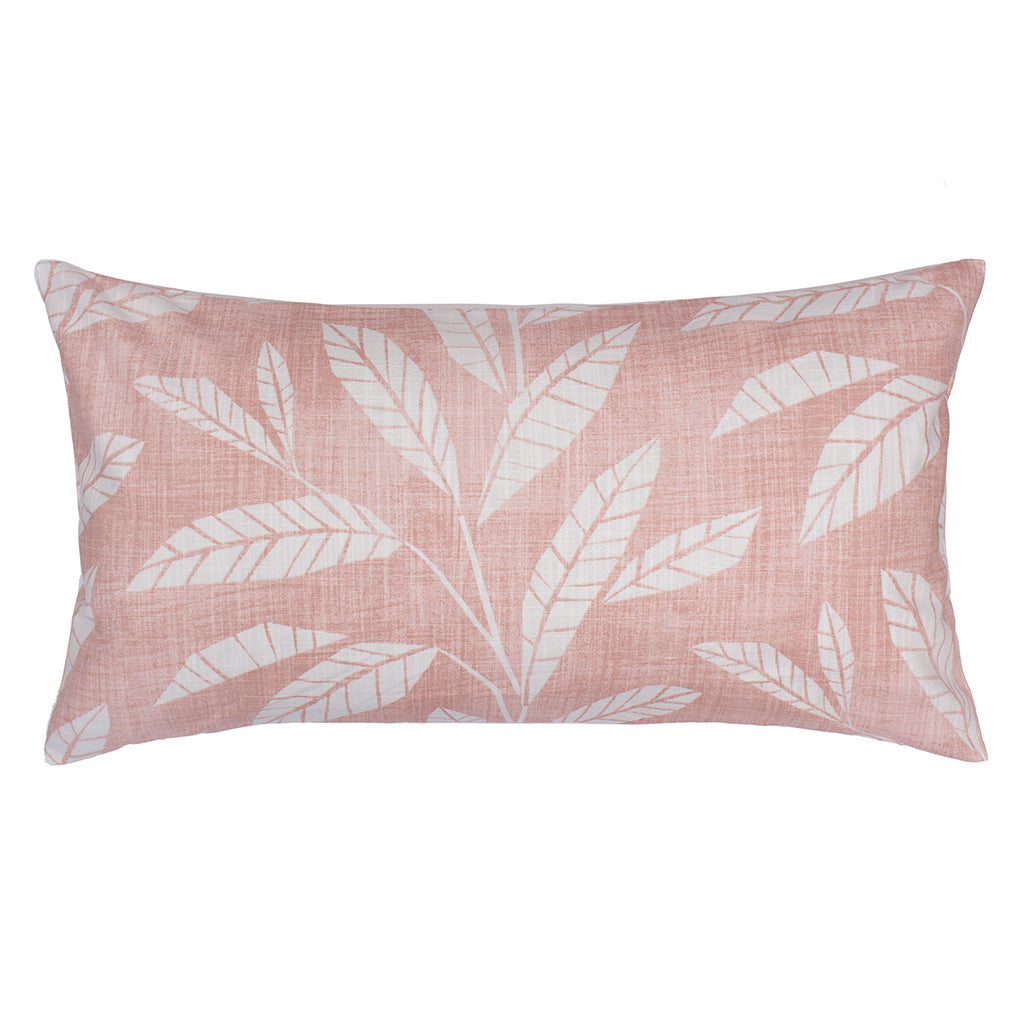 Bedroom inspiration and bedding decor | The Pink Fern Throw Pillows | Crane and Canopy