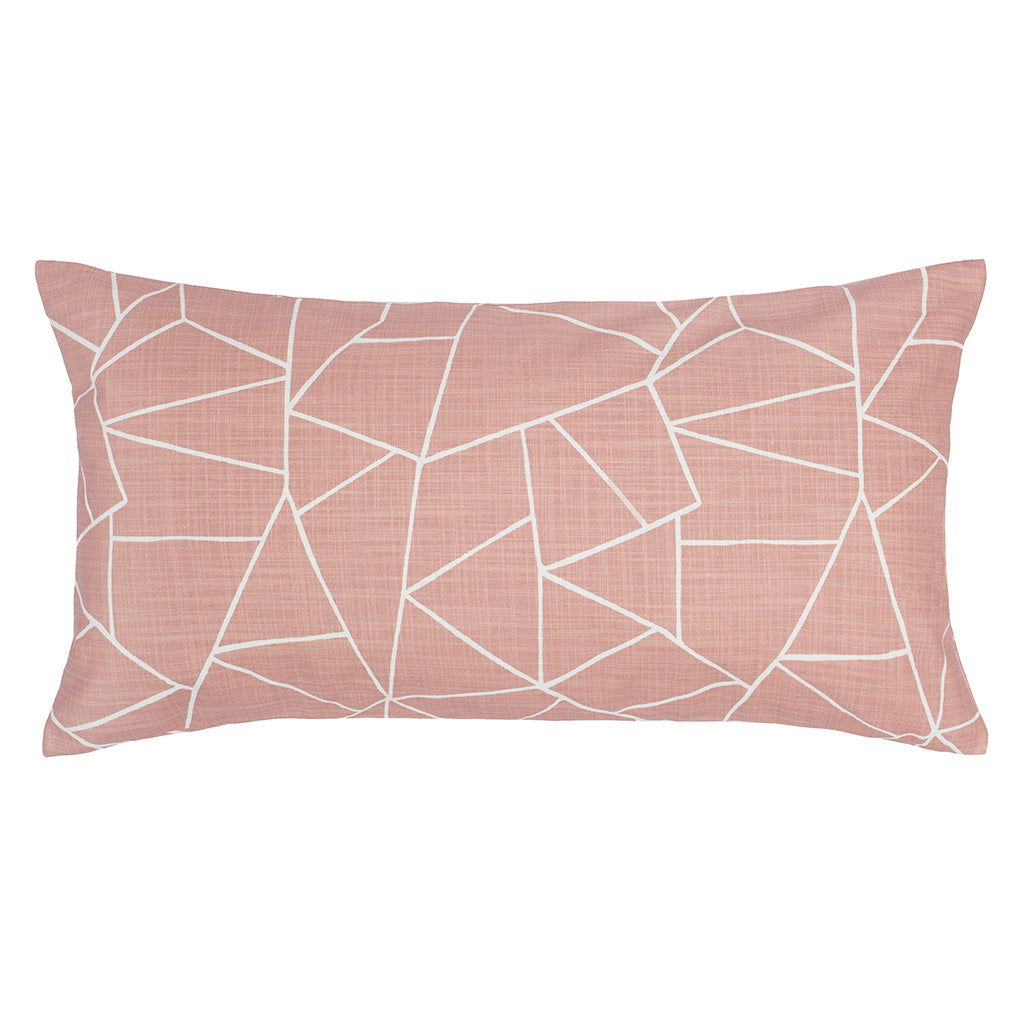 Bedroom inspiration and bedding decor | The Pink Graphic Throw Pillows | Crane and Canopy