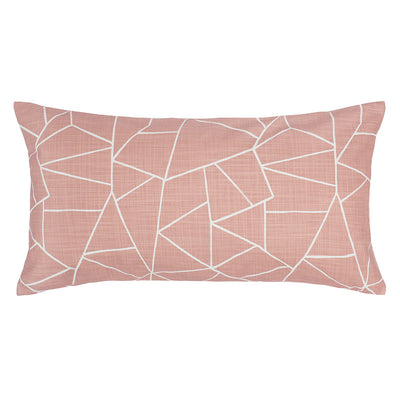 Pink Graphic Throw Pillow