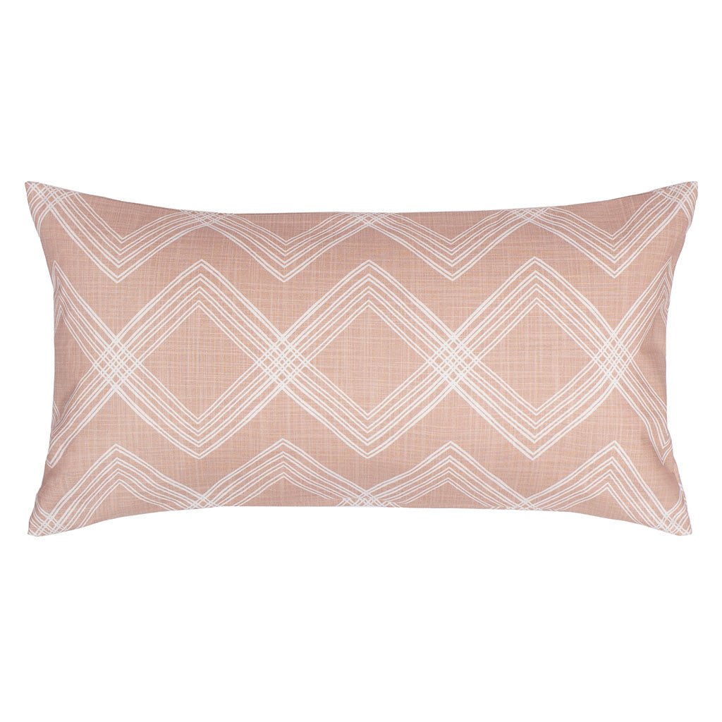 Bedroom inspiration and bedding decor | The Pink Art Deco Throw Pillows | Crane and Canopy
