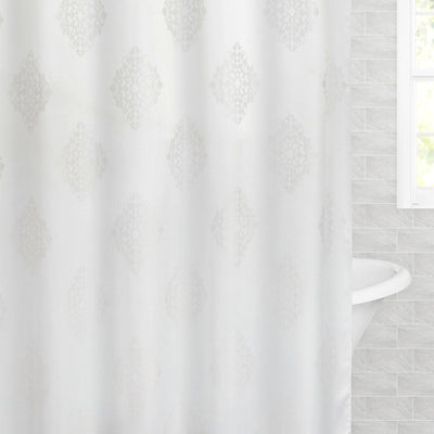 The Regal Jacquard Shower Curtain