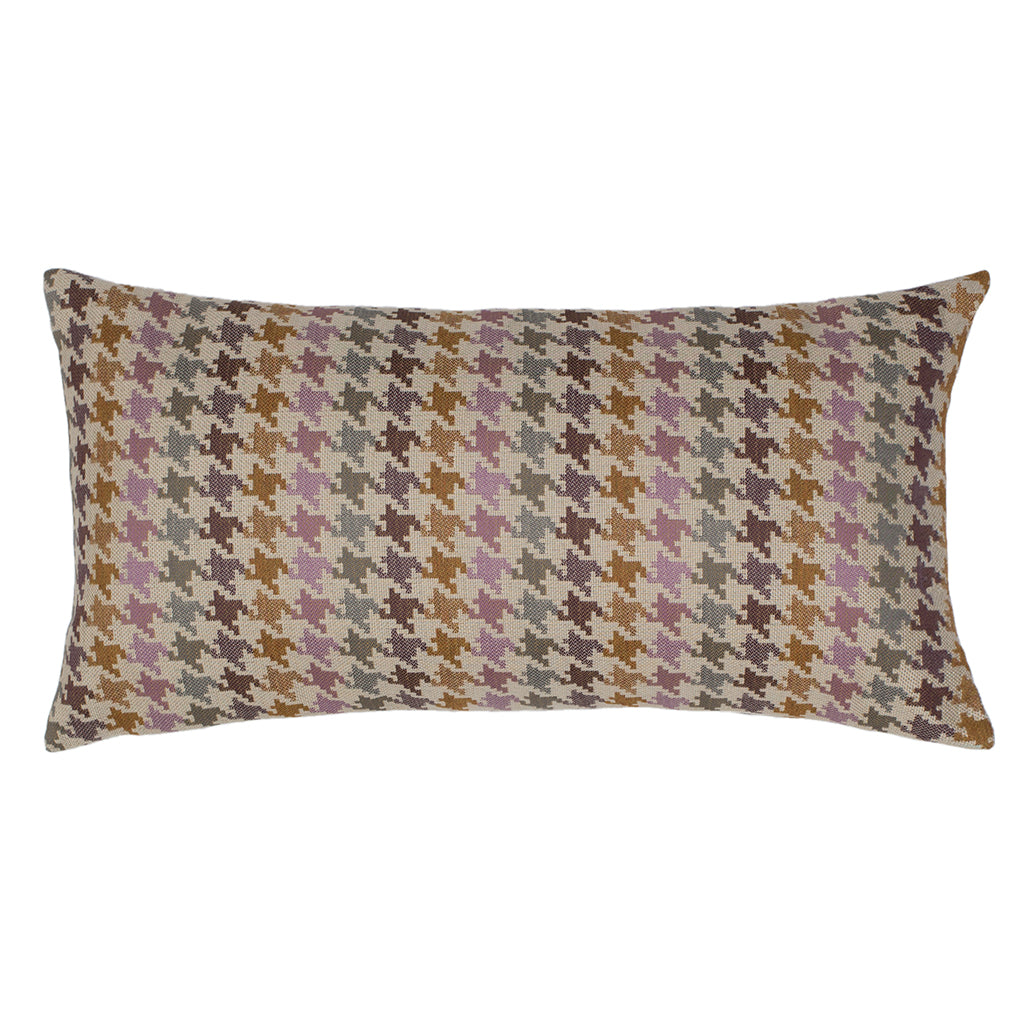 Bedroom inspiration and bedding decor | The Retro Houndstooth Throw Pillows | Crane and Canopy