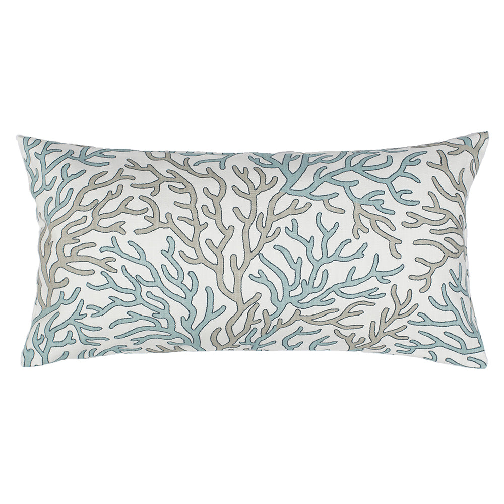 ... The Sea Glass and Beige Reef Throw Pillows  1f74cc88a49f