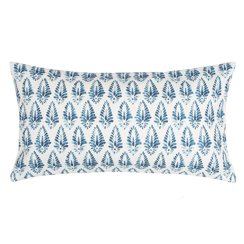 The Teal Agave Throw Pillow