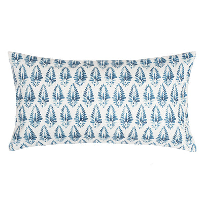 Teal Agave Throw Pillow