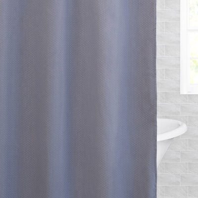 The Textured Shower Curtain