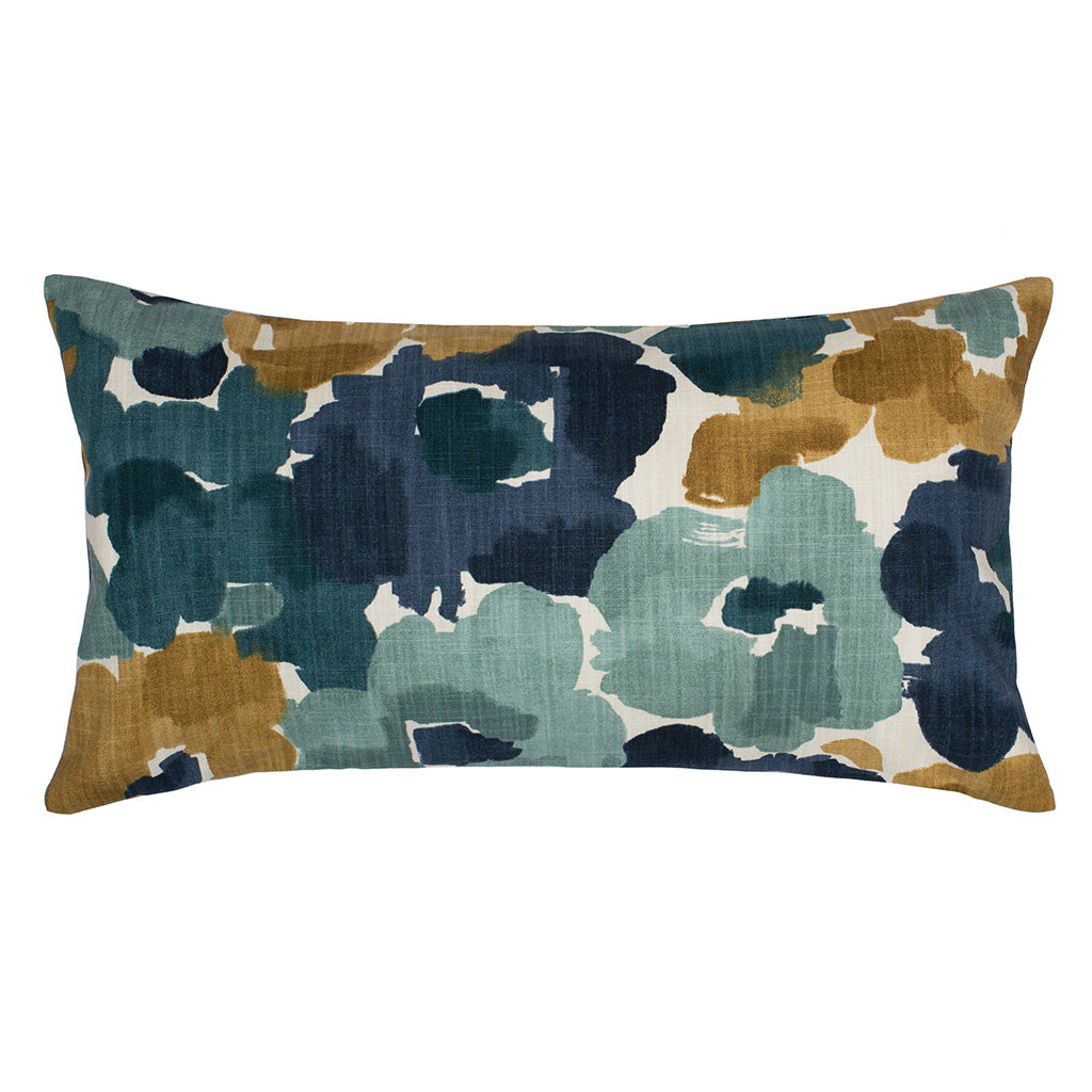 The Winter Blooms Throw Pillow Crane Canopy
