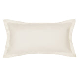 Peninsula Cream Throw Pillow