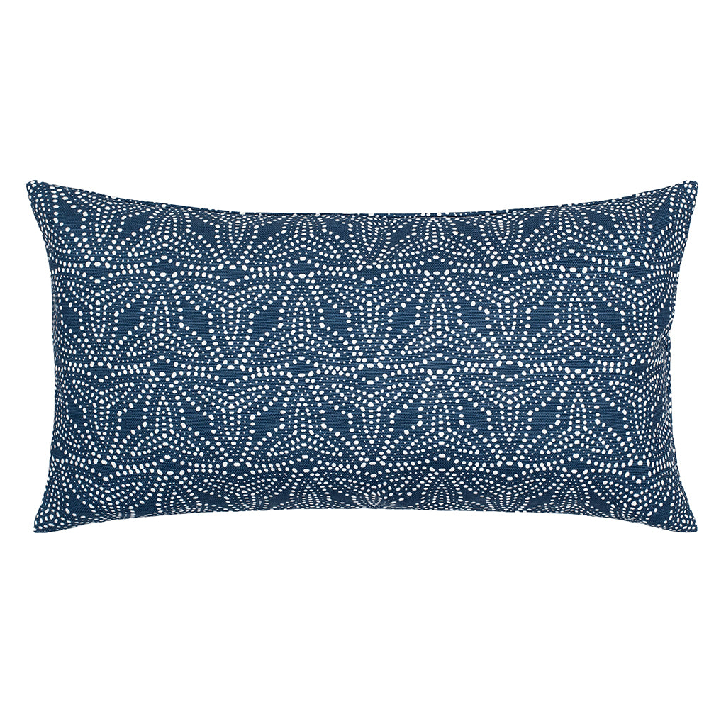 Bedroom inspiration and bedding decor | The Trillium Navy Throw Pillows | Crane and Canopy