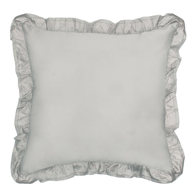 Oyster Grey Vienna Throw Pillow