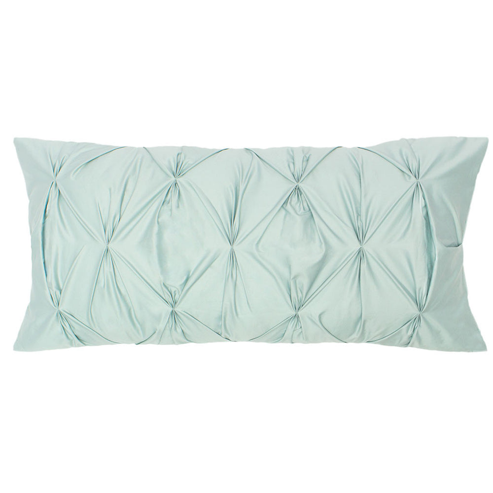 The Porcelain Green Pintuck Throw Pillows | Bedroom Inspiration And Bedding  Decor | Www.craneandcanopy