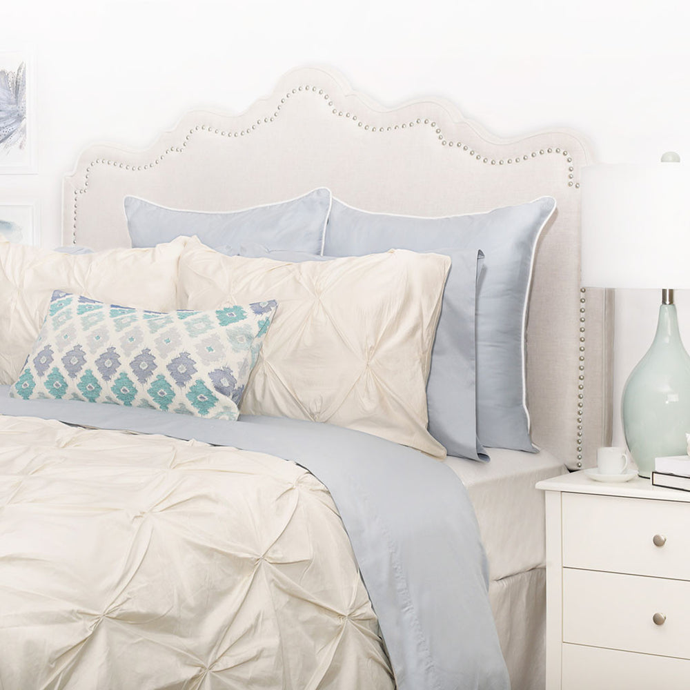 bedding double itm cover pintuck pinch single super duvet set quilt pinched pleat king