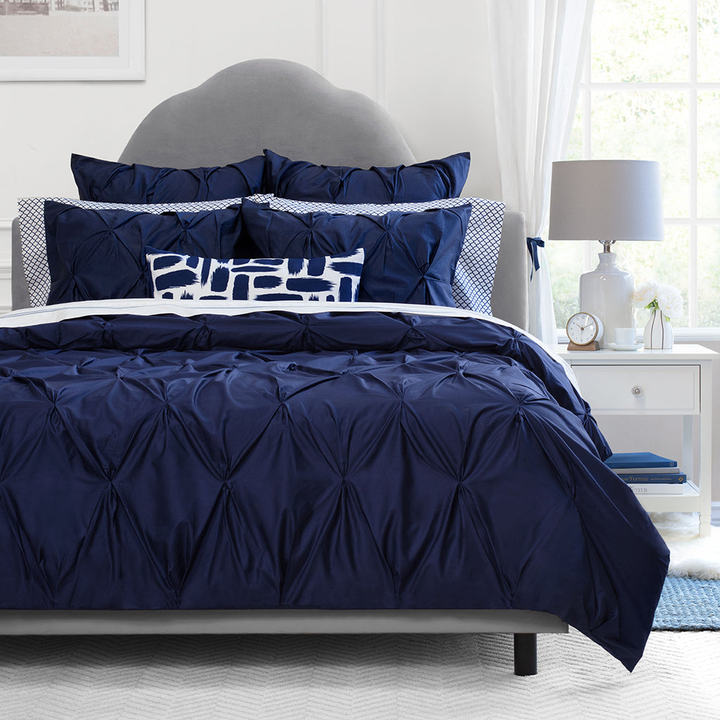 Navy Blue Bedding The Valencia Navy Blue Crane Canopy