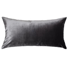 The Charcoal Grey Velvet Throw Pillow Crane Amp Canopy