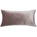 Amethyst Velvet Throw Pillow
