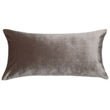 Oyster Velvet Throw Pillow