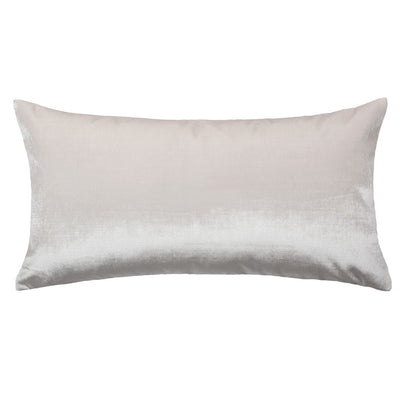Pearl White Velvet Throw Pillow