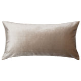 Sand Velvet Throw Pillow